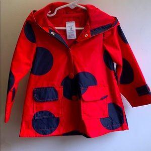 Carter's Ladybug raincoat